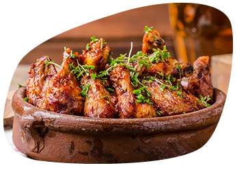 Piri Piri Chicken Wings (4)